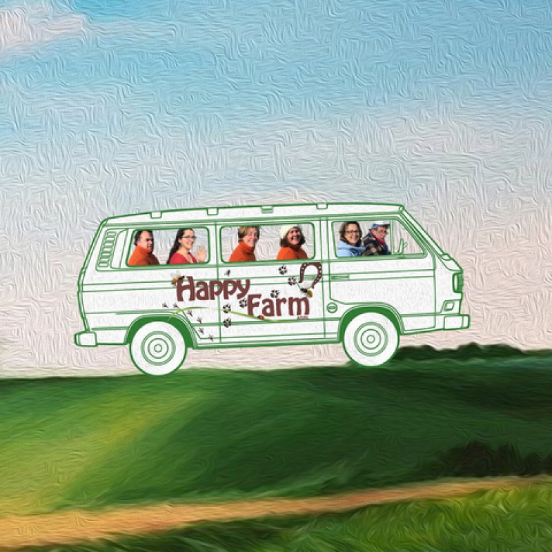 Help us to make nature accessible to everyone: a van for Happy Farm